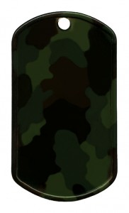 Painted stainless steel – Camouflage (R)