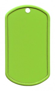 Painted stainless steel – Lime green (W)
