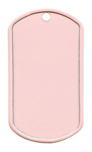 Painted stainless steel – Baby pink (Z)
